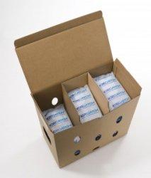 2 Stück 630g Icecatch Gel Gelpack Kühlakku Kühlgel für Styroporbox Kühlbox