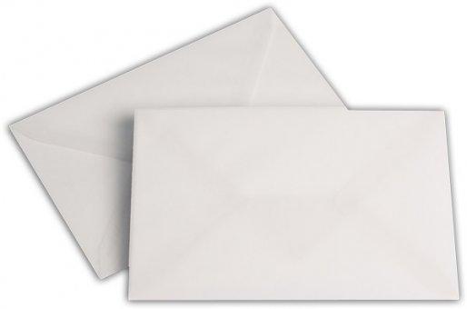 Transparent Briefhüllen SO 120/180 mm weiß