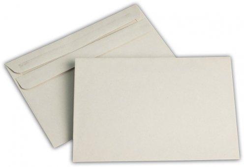 Briefhüllen C6 114/162 mm grau