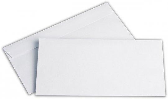 Briefhüllen DL 110/220 mm weiß