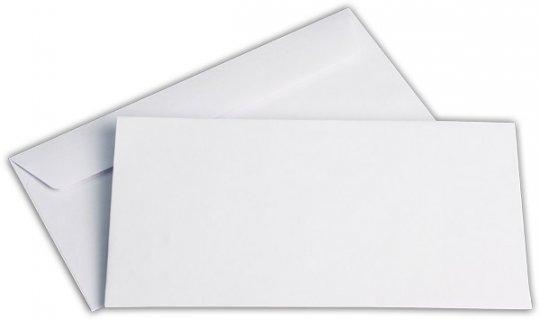 Briefhüllen C6/5 114/229 mm weiß