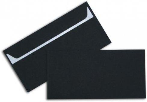 Briefhüllen C6/5 114/229 mm schwarz