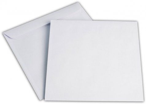 Briefhüllen SO 220/220 mm weiß