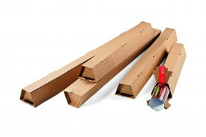 Trapez Verpackung - 610 x 105/55 x 75 mm DIN A1, CP070.04