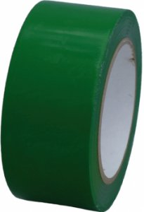 PVC Klebeband Packband grün no noise leise, 50 mm x 66 lfm