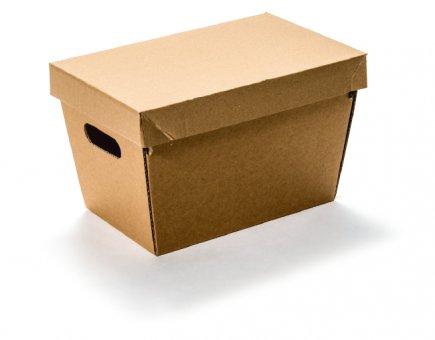 MULTI-Cargo Logistikkarton incl. Deckel  Gr. S – braun uno