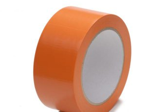 PVC Klebeband Packband orange no noise leise, 50 mm x 66 lfm
