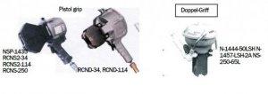 Drucklauftzange RCND-34 für Hülsentyp 34 HOC, 34 SHOC