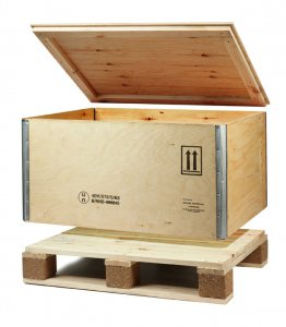 Sperrholz Palettenkiste 1200x800x800mm