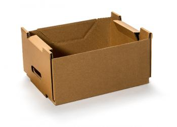 MULTI-Cargo Tragekiste Gr. S – braun uno