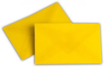 Transparent Briefhüllen SO 62/98 mm intensivgelb