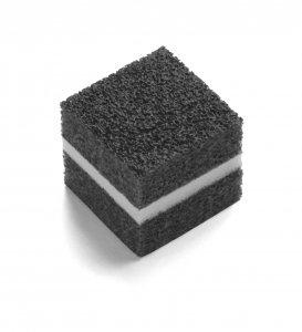 Glass Pad Schaumprofil, A: 20mm 5000 Stück/Karton grau