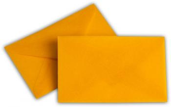 Transparent Briefhüllen SO 62/98 mm intensivorange