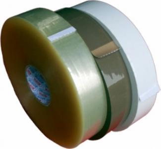 Maschinenklebeband Kautschukkleber 50mm x 990 lfm