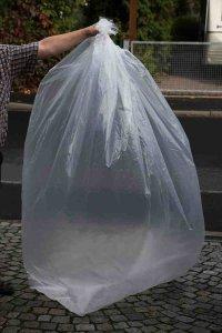 LDPE-Seitenfaltensäcke, transparent 600 + 400 x 2000 x 0,070 mm