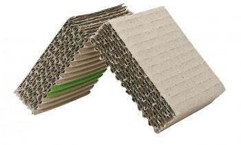 Polsterprofil aus Wellpappe -  geschlitzte Platte